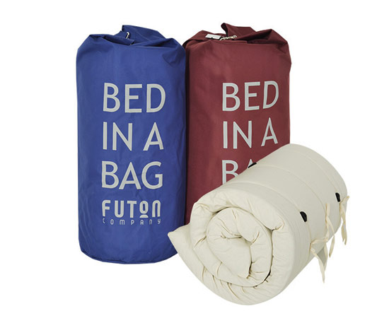 sleepober bed in bag maroon blue futon bed in a bag   furniture shop  rh   ekonomikmobilyacarsisi