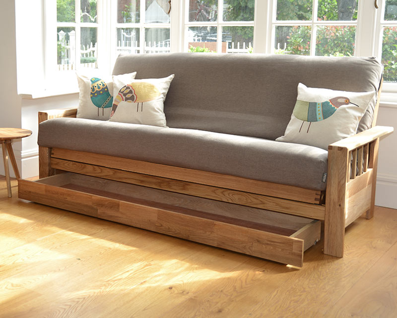 Space saving storage hacks and solutions experts in for Futon para sofa cama