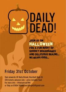 Tunbridge Wells Halloween party