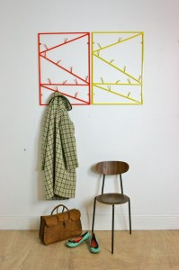 design masters - twigs hanging rack