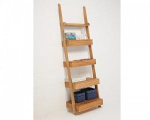 oak ladder drawers