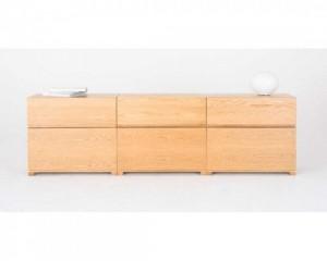 oak veneer deep stacking drawers