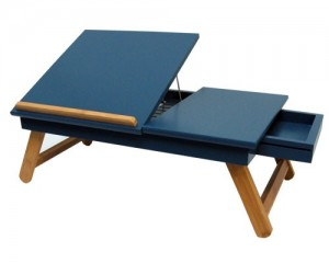 Lap-top-table-Midnight-Blue-open