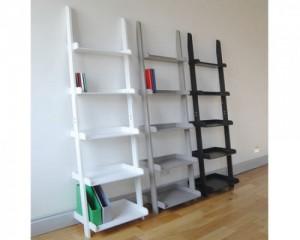 grey ladder shelf