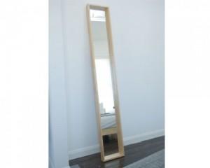 oak long mirror