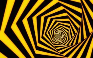optical illusino wallpaper