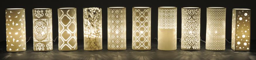 Futon Company ceramic lamps banner