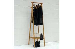 Bamboo-narrow-folding-wardrobe