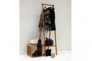 Bamboo-narrow-folding-wardrobe-dressed-shot-with-cube