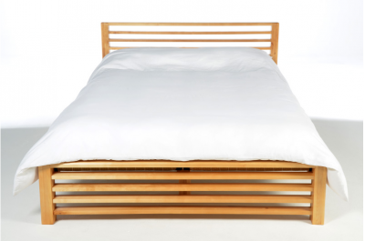 Horizon-bed-frame-head-on-with-Duvet