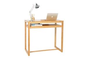 Oak-diner-as-desk
