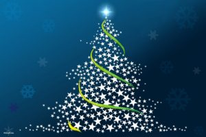 31-Christmas-wallpapers-free-christmas-tree-made-out-f-stars-blue-background-wallpaper