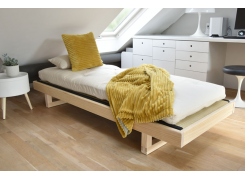 Titch – single seater solid pine sofa bed