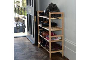 walnut-shoe-rack-hallway